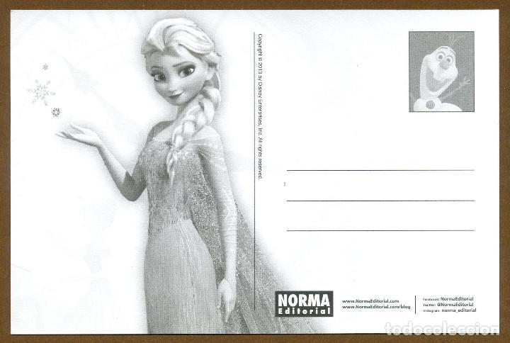 Postales: Postal Editorial NORMA EL ARTE FROZEN - Foto 2 - 176198773