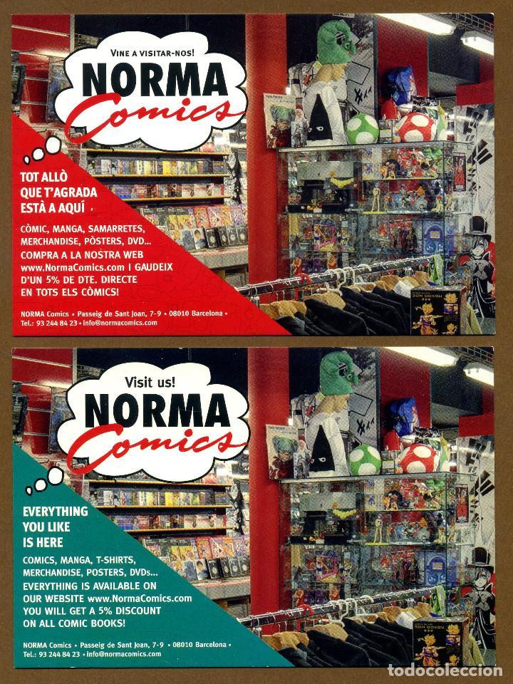 2 POSTAL EDITORIAL NORMA COMICS (Postales - Postales Temáticas - Publicitarias)