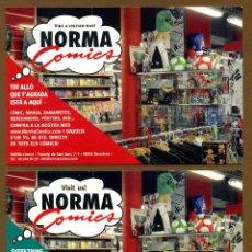 Postales: 2 POSTAL EDITORIAL NORMA COMICS. Lote 156620810