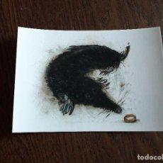 Postales: POSTAL DE PUBLICIDAD-MARCAPÁGINAS ANIMALES FANTÁSTICOS, J.K. ROWLING. EDITORIAL SALAMANDRA.. Lote 156649614