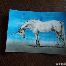 Postales: POSTAL DE PUBLICIDAD-MARCAPÁGINAS ANIMALES FANTÁSTICOS, J.K. ROWLING. EDITORIAL SALAMANDRA.. Lote 156649890