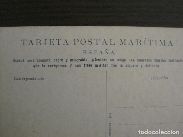 Postales: BUQUES ESCUELAS ASILOS-BARCELONA-POSTAL MARITIMA PUBLICITARIA-VER FOTOS-(57.943) - Foto 3 - 156900550