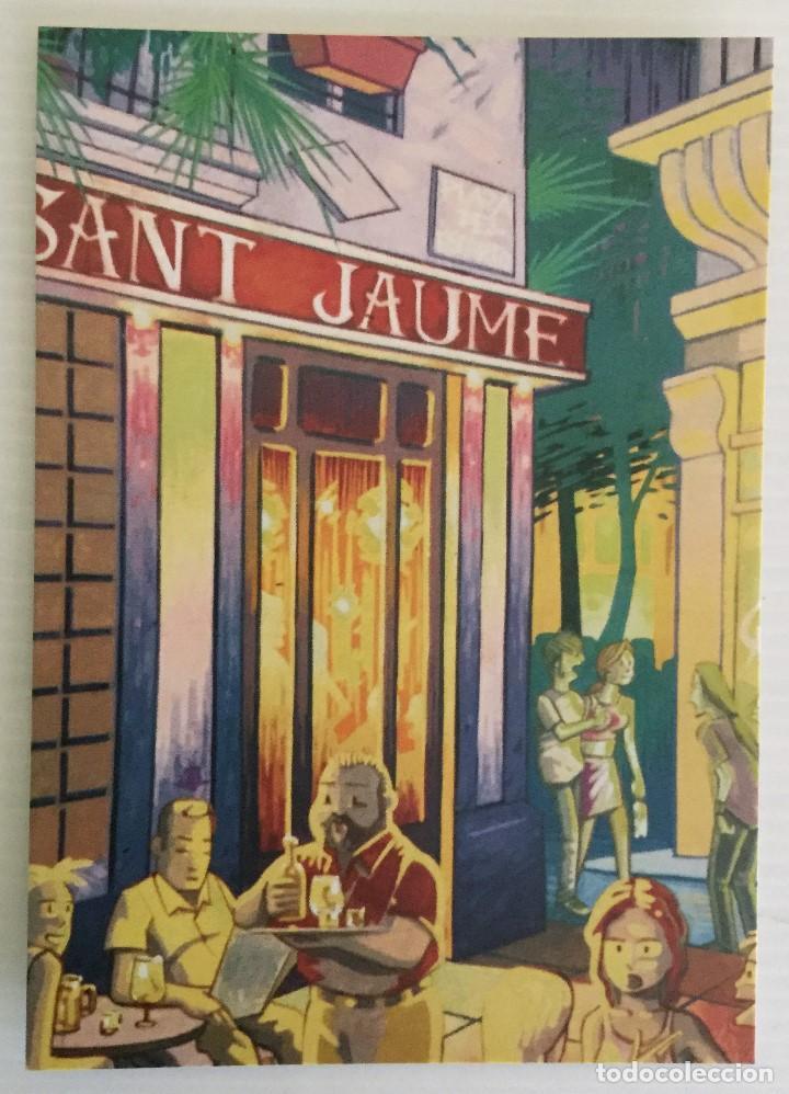 POSTAL CAFÉ SANT JAUME – VALENCIA – AÑOS 90 (Postales - Postales Temáticas - Publicitarias)