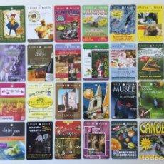 Postales: LOTE DE 56 TARJETAS DE PUBLICIDAD TURÍSTICA DE FRANCIA – MJB PUBLI-SITES. Lote 182444153