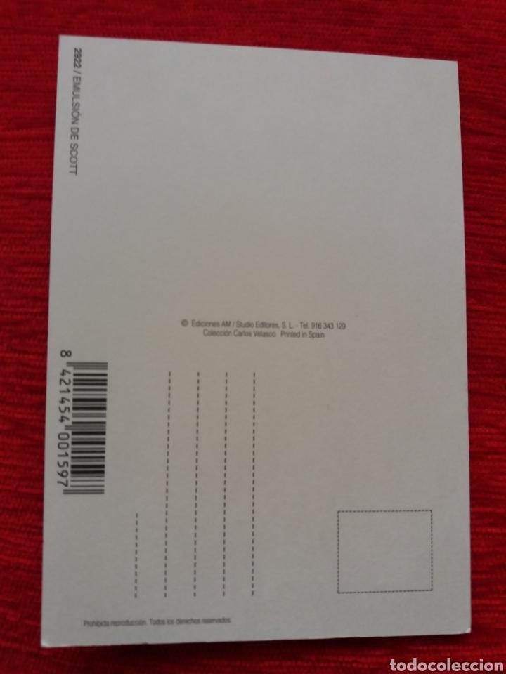 Postales: EMULSIÓN DE SCOTT ACEITE HÍGADO DE BACALAO - Foto 2 - 209997498