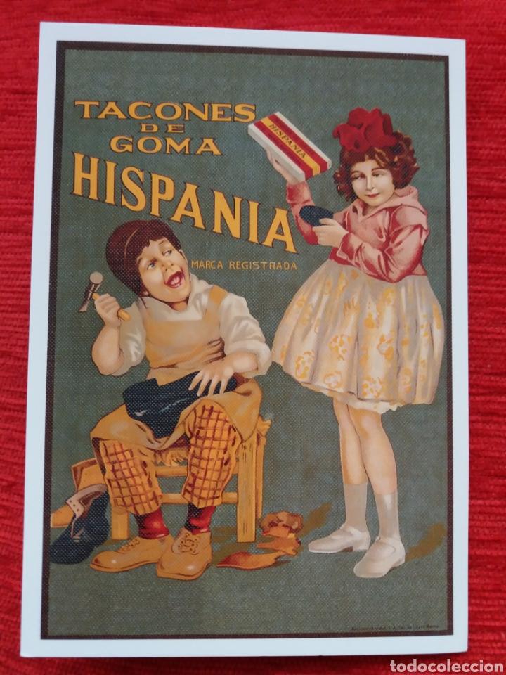 TACONES DE GOMA HISPANIA (Postales - Postales Temáticas - Publicitarias)