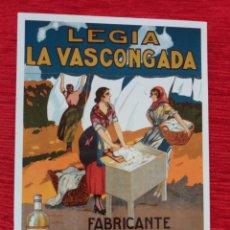 Postales: LEJÍA LA VASCONGADA LUIS DEL RÍO BILBAO. Lote 159515378