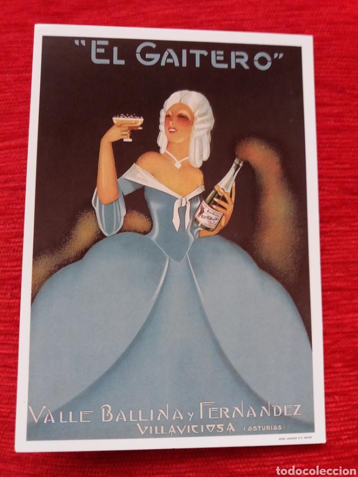EL GAITERO (Postales - Postales Temáticas - Publicitarias)