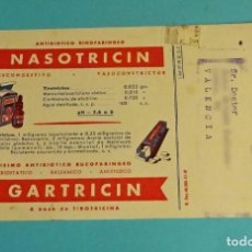 Postales: TARJETA POSTAL LABORATORIOS ANDRÓMACO. FORMATO 16 X 10 CM. Lote 159988434