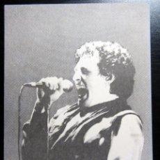Postales: POSTAL POST CARD MIGUEL RIOS GIRA EL ROCK DE UNA NOCHE DE VERANO GASOIL. Lote 160339030