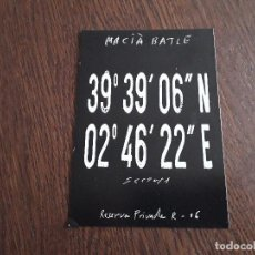 Postales - postal de publicidad bodegas Macià Batle, Binissalem. Mallorca. - 160629766