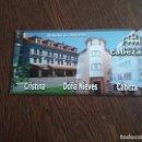 Postales: POSTAL DE PUBLICIDAD HOTEL CRISTINA, ASTURIAS.. Lote 160629958