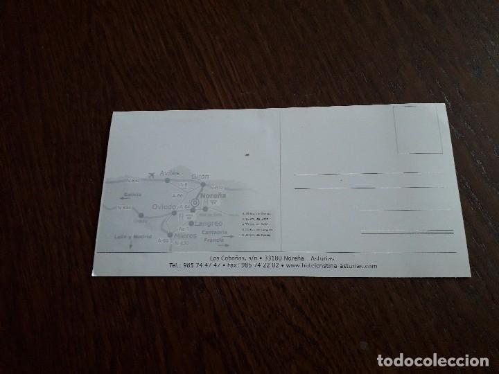 Postales: postal de publicidad hotel Cristina, Asturias. - Foto 2 - 160629958