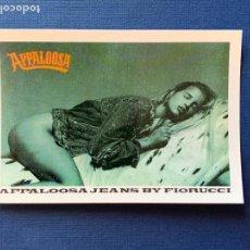 Postales: POSTAL PUBLICIDAD MODA APPALOOSA JEANS BY FIORUCCI. Lote 161381218