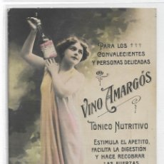 Postales: VINO AMARGÓS - TÓNICO NUTRITIVO - P29057. Lote 162209722