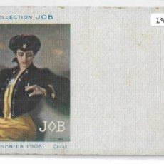 Postales: PAPEL DE FUMAR JOB - RAMON CASAS - P29055. Lote 162209998