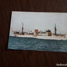 Postales: REPRODUCCIÓN POSTAL ANTIGUA, COLECCIÓN DIARIO DE MALLORCA. BUQUE CIUDAD DE PALMA, TRANSMEDITERRANEA. Lote 162309246