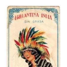 Postales: PUBLICIDAD BRILLANTINA INDIA. JOSE BARREIRA. MADRID AÑOS 20. Lote 162369242