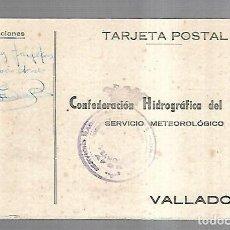Postales: TARJETA POSTAL. PUBLICITARIA. CONFEDERACION HIDROGRAFICA DEL DUERO. VALLADOLID. AÑOS 40. Lote 162686378