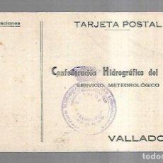 Postales: TARJETA POSTAL. PUBLICITARIA. CONFEDERACION HIDROGRAFICA DEL DUERO. VALLADOLID. AÑOS 40. Lote 162686582