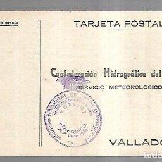 Postales: TARJETA POSTAL. PUBLICITARIA. CONFEDERACION HIDROGRAFICA DEL DUERO. VALLADOLID. 1948. Lote 162686642