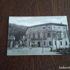 Postales: REPRODUCCIÓN POSTAL ANTIGUA, COLECCIÓN DIARIO DE MALLORCA, GRAN VIA Y HOTEL MARINA, SÓLLER. MALLORCA. Lote 162967270