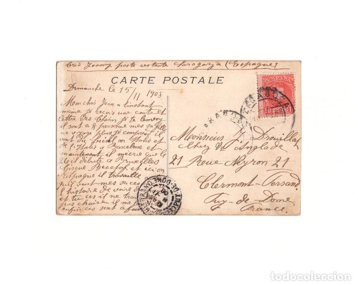 Postales: POSTAL GRUPO DE MUSICA THERON´S 1908. - Foto 2 - 163733386