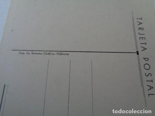 Postales: VALENCIA. SANATORIO CASA BLANCA. DETALLE DE LA TERRAZA. - Foto 2 - 163811070