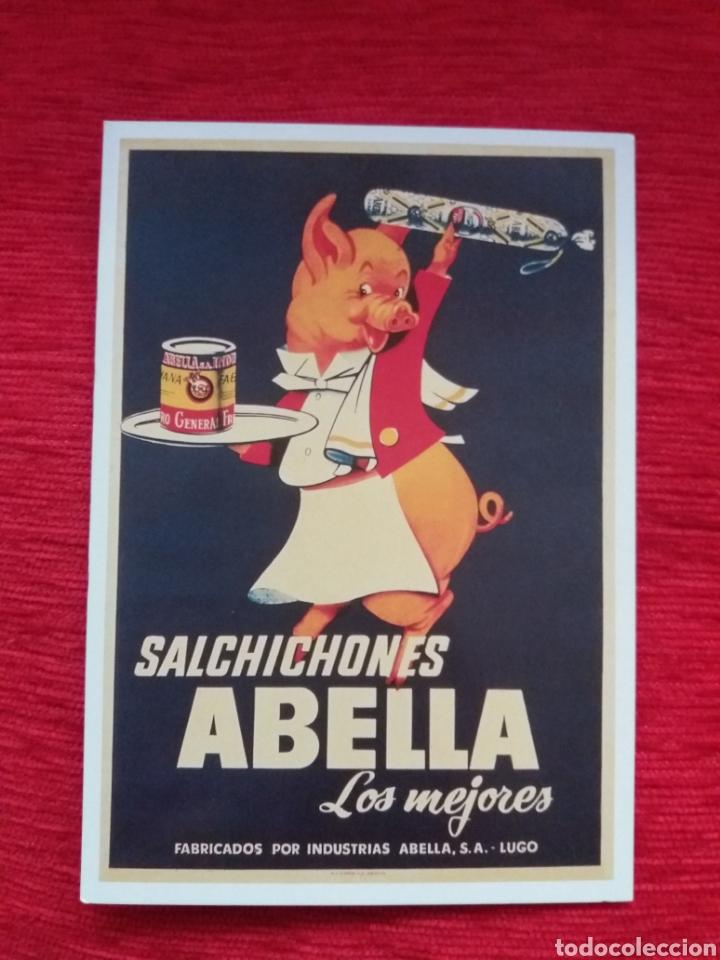 SALCHICONES ABELLA (Postales - Postales Temáticas - Publicitarias)