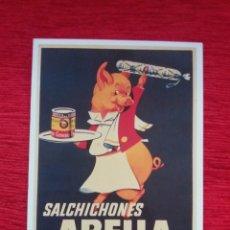 Postales: SALCHICONES ABELLA. Lote 209998512
