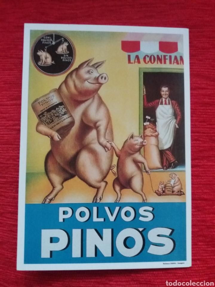 POLVOS PINO'S (Postales - Postales Temáticas - Publicitarias)