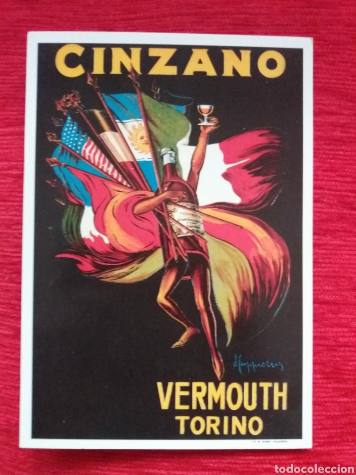 VERMOUTH TORINO -CINZANO- (Postales - Postales Temáticas - Publicitarias)
