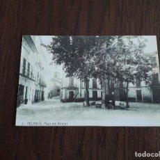 Postales: REPRODUCCIÓN POSTAL ANTIGUA, COLECCIÓN DIARIO DE MALLORCA, FELANITX, PLAZA DEL ARRABAL.. Lote 163980098