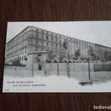 Postales: REPRODUCCIÓN POSTAL ANTIGUA, COLECCIÓN DIARIO DE MALLORCA, CASA PROVINCIAL MISERICORDIA, PALMA.. Lote 163984210