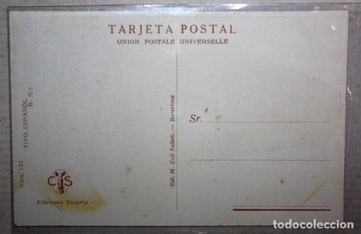 Postales: POSTAL PUBLICITARIA DE ESTILO MODERNISTA. ILUSTRADA POR R. MIR. EDICIONES VICTORIA. SIN CIRCULAR - Foto 2 - 165166966