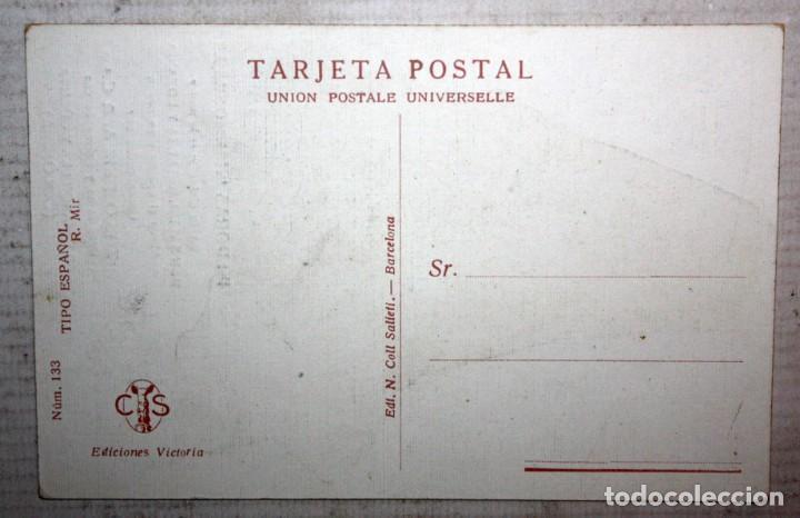 Postales: POSTAL PUBLICITARIA DE ESTILO MODERNISTA. ILUSTRADA POR R. MIR. EDICIONES VICTORIA. SIN CIRCULAR - Foto 2 - 165167458