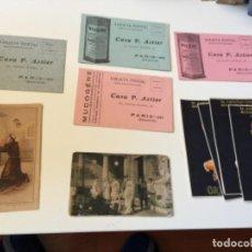 Postales: POSTALES PUBLICITARIAS. Lote 165168006