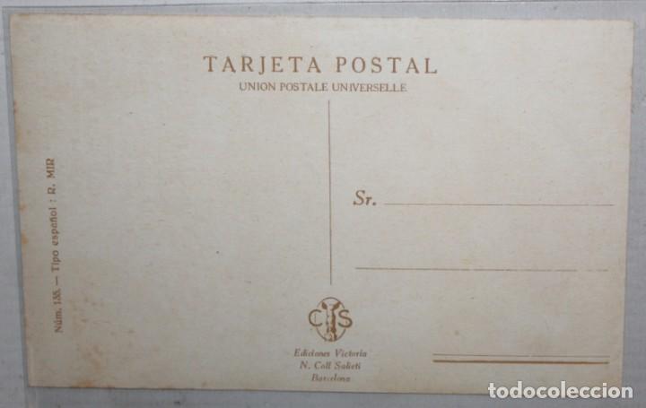 Postales: POSTAL PUBLICITARIA DE ESTILO MODERNISTA. ILUSTRADA POR R. MIR. EDICIONES VICTORIA. SIN CIRCULAR - Foto 2 - 165168594
