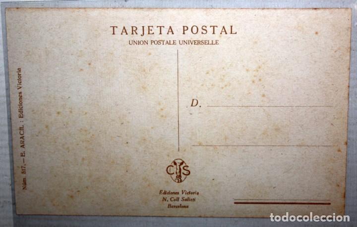 Postales: POSTAL PUBLICITARIA DE ESTILO MODERNISTA. ILUSTRADA POR R. MIR. EDICIONES VICTORIA. SIN CIRCULAR - Foto 2 - 165168850