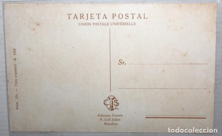 Postales: POSTAL PUBLICITARIA DE ESTILO MODERNISTA. ILUSTRADA POR R. MIR - PILDORAS HERMOSILLA - SIN CIRCULAR - Foto 2 - 165170110