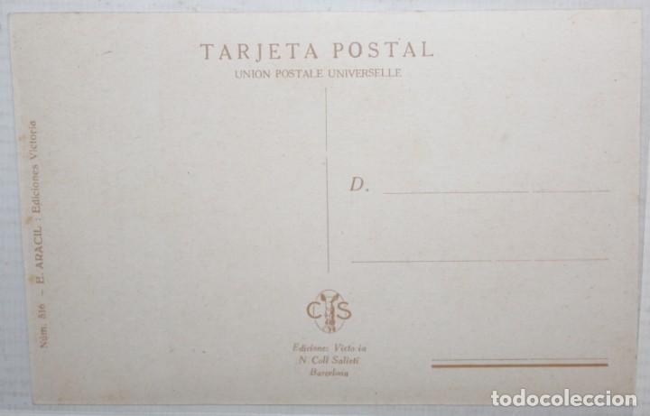 Postales: POSTAL PUBLICITARIA DE ESTILO MODERNISTA. PILDORAS HERMOSILLA,- N. COLL SALIETI (Bcn). SIN CIRCULAR - Foto 2 - 165172514
