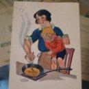 Postales: ANTIGUA POSTAL COMICA PUBLICIDAD POTASA SELLO CARTAGENA MURCIA. Lote 165378270