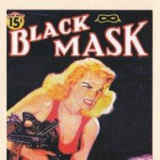 Postais: POSTAL PUBLICITARIA BLACK MASK. MASCARA NEGRA - LIBRERIA ITACA - POSTALFREE. Lote 165402254