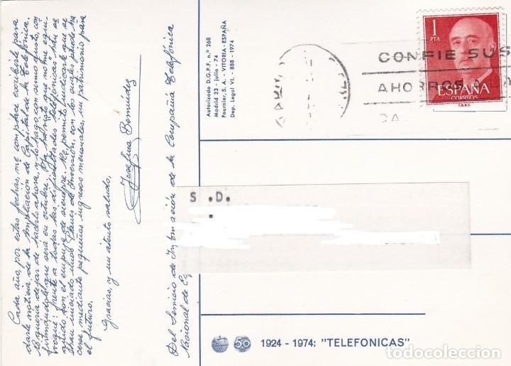 Postales: POSTAL PUBLICITARIA 1924 - 1974: TELEFONICAS - Foto 2 - 165403106