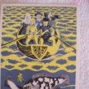 Postales: TARJETA PUBLICIDAD BOLDRENA LICARBIN LABORATORIOS PROMESA, DIBUJO DE F. ECHAUZ. Lote 165428378