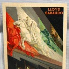 Postales: POSTAL PUBLICITARIA - LLOYD SABAUDO - SERVICIOS RAPIDOS DE LUJO - SIN CIRCULAR.. Lote 165956850