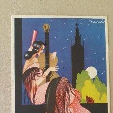 Postales: POSTAL PUBLICIDAD FÓSFORO FERRERO. ANDALUCÍA SERIE 2 Nº 1. SIN CIRCULAR.. Lote 166874104