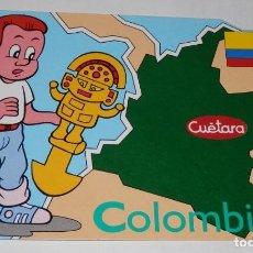 Postales: TARGETA POSTAL CUÉTARA -COLOMBIA. Lote 167754088