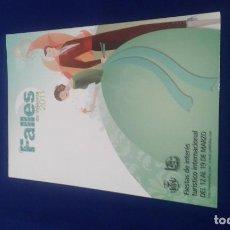 Postales: POSTAL FALLAS 2011. Lote 168566480