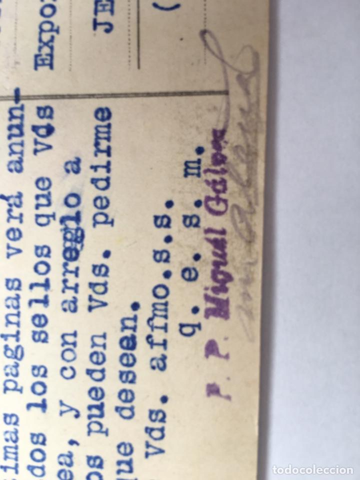 Postales: Postal antigua Exposición General Española Sevilla 1928 Barcelona 1929 Casa Gálvez - Foto 5 - 168570676